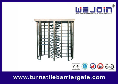 China security gates, double routeway  stainless turnstile gates , full height turnstile ,  office building gate   manufacture usine