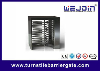 China Counter Full Height Turnstiles pedestrian barrier gate With Control Panel usine