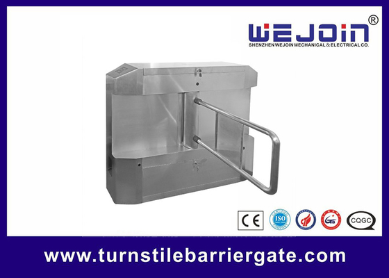 China Acrylic plate Arm Turnstile Entry Swing Barrier Gate Systems With Dry Contact Interface usine