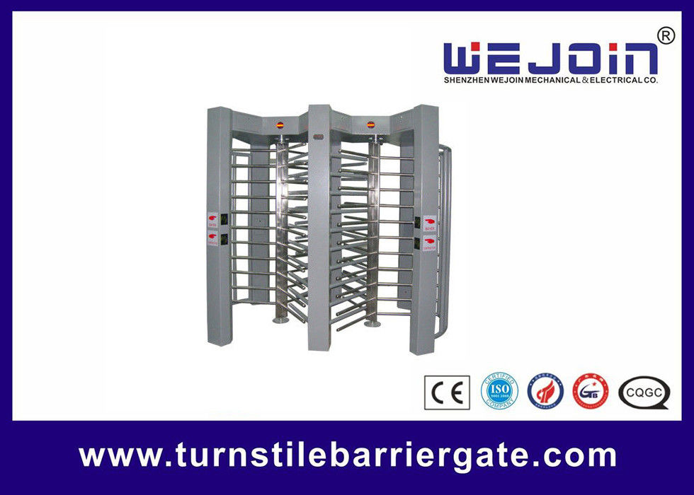 double routeway  stainless turnstile gates , full height turnstile ,  office building gate security gates , manufacture fournisseur