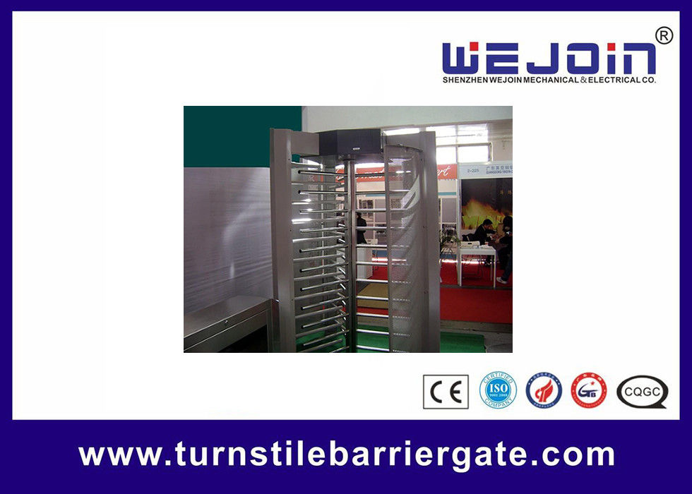 Electronic pedestrian barrier gate / Subway Access Control Turnstile Gate fournisseur