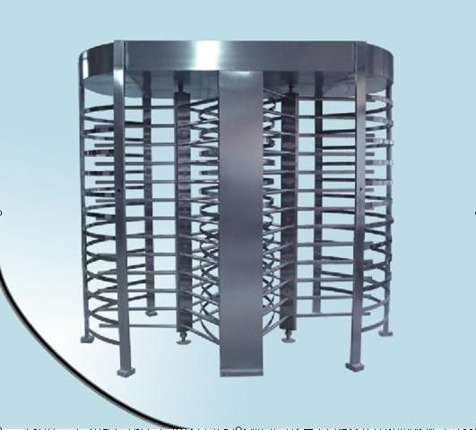 RFID barrier gate Security Full height Turnstile for Subway , Metro